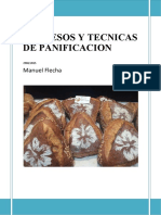 PROCESOS Y TECNICAS DE PANIFICACION