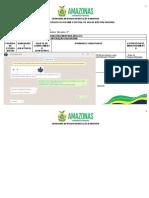 PLANO PEDAGÓGICO REGIME ESPECIAL DE AULAS NÃO PRESENCIAIS 2 ANO 6 E 7