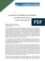 20091607discLe Havre Politique Maritime