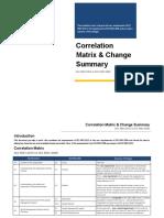 ISO 9001-2015 v 2008 Correlation Matrix