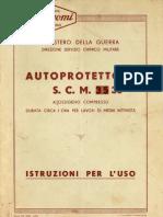 Autoprotettore SCM 36