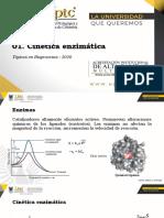 01. Cinética enzimática