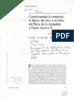 Construyendo la memoria la figura del inca y el reino del peru de la conquista a tupac amaru II