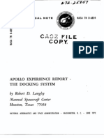 Apollo Experience Report the Docking System