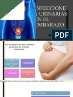 infeccion urinaria en el embarazo