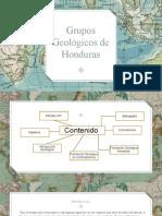 Grupos Geologicos de Honduras