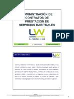 MÓDULO I CONTRATO ADMINISTRATIVO DE PRESTACIÓN DE SERVICIOS HABITUALES
