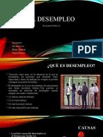 EL DESEMPLEO Economia politica (1)