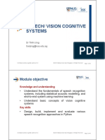 cognitive speech and vision v1.0
