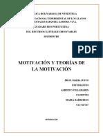 Motivacion y teorias de la motivacion