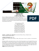07  ORACION EN FAMILIA CAMINANDO CON... Martes XV SEMANA TO 14-07-2020
