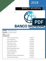 BANCO MUNDIAL informe