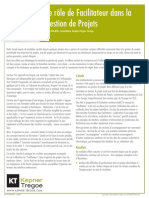 700-12-P497914 Le role de Facilitateur dans la Gestion de Projects