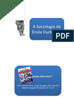 A sociologia de Émile Durkheim.pptx