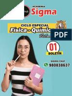 SEMA 1 - CICLO FQ- ACADEMIA SIGMA