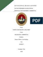 Unidades morfologicas del Peru