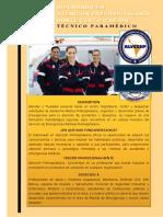 Temario y Presentación Diplomado en Emergencias PreHospitalarias y Rescate