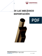 FT Tubo LAC EXPORT SIDERPERU 04abr19