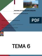 TEMA - 6 FORMALIZACION DE LA ORGANIZACION