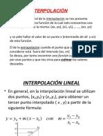 Interpolacion