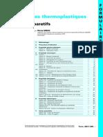 Propriétés des Thermoplastiques. Tableaux Comparatifs.pdf