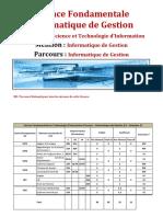 Régime des Etudes Licence Fondamentale en Informatique de Gestion.pdf