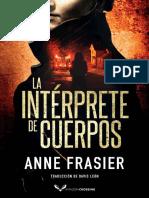 Anne Frasier - Inpectora Jude Fontaine 01 - La int_rprete de cuerpos
