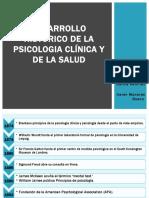 DESARROLLO HISTORICO DE LA PSICOLOGIA CLÍNICA (1)