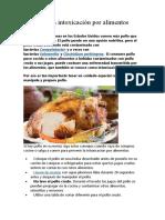 El pollo y la intoxicación por alimentos