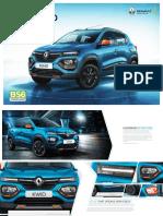 Renault-KWID-Phase-2-brochure-BS6-logo-integration