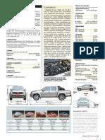 FICHA TECNICA AMAROK V6 COMFORTLINE