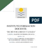 didactica  fundamentación