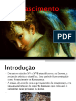 Renascimento- artes