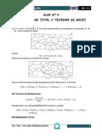 Formulario Probabilidad total y bayes