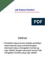STUDI KASUS KONTROL