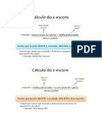 Cálculo z-escore