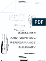Gemini Guidance and Control Performance Summary