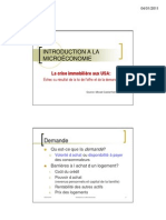 Microéconomie_Analyse Crise Immobilière USA