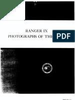Ranger IX Photographs of the Moon