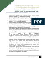 EJERCICIOS DE REPASO COMBINACIÓN Y PERMUTACIÓN