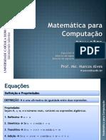 05 Equações