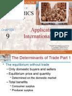 Chapter 9 Application International Trade