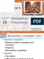 Chapter 16 Monopolistic Competition