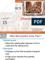 Chapter 15 Monopoly