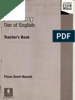 New Proficiency Use of English Tb Fiona Scott Barrett