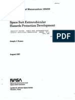 Space Suit Extravehicular Hazards Protection Development