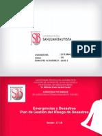 17-18 Emergencias y Desastres Plan de Gestión del Riesgo de Desastre.pdf