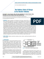 Critical Review on the Battery State of Charge Estimation Methods