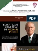 Estrategias Genericas segun Michael Porter