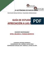 Guías de Estudio APRECIACIÓN A LAS ARTES.docx